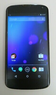 LG Original Google LG Nexus 4 E960 16 gb wifi Bluetooth Smartphone