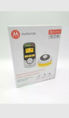Motorola MBP161TIMER Digital Audio Baby Monitor with Baby Care Timer-QUICK DEL