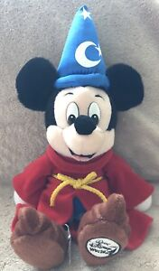 Mickey Mouse Sorcerer Beanie Disney Parks