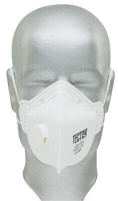 Tector FFP2 4203 Atemschutzmaske Mund Abdeckung mit Ventil Halbmaske