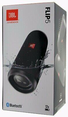 JBL Flip 5 Waterproof Portable Rechargeable Bluetooth Speaker- Black *FLIP5BLK