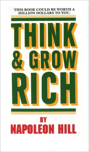 PDF Think and Grow Rich by Napoleon Hill, Master Resell Rights + Free Shipping