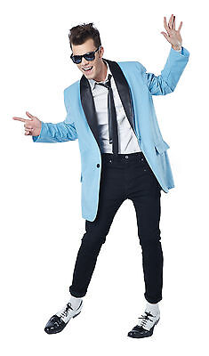 Rock and Roll 50's Teen Idol Grease Adult Costume   (Mens 50s Costume)