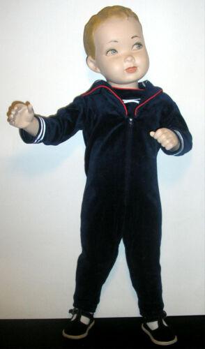 RARE Vintage Decter? Male Child Dept Store Full Size Mannequin Sailor Outfit