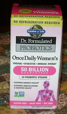 Garden of Life Dr. Formulated Probiotics Women 50 Billion CFU Once Daily 30