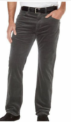 Kirkland Signature Men's 5 Pocket Corduroy Pants Charcoal 5 Pocket Corduroy Pants