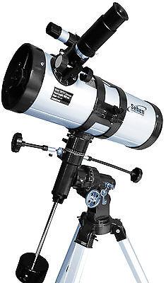 Seben Star Sheriff 1000-114 EQ3 Reflektor Teleskop Spiegelteleskop + E-Motor