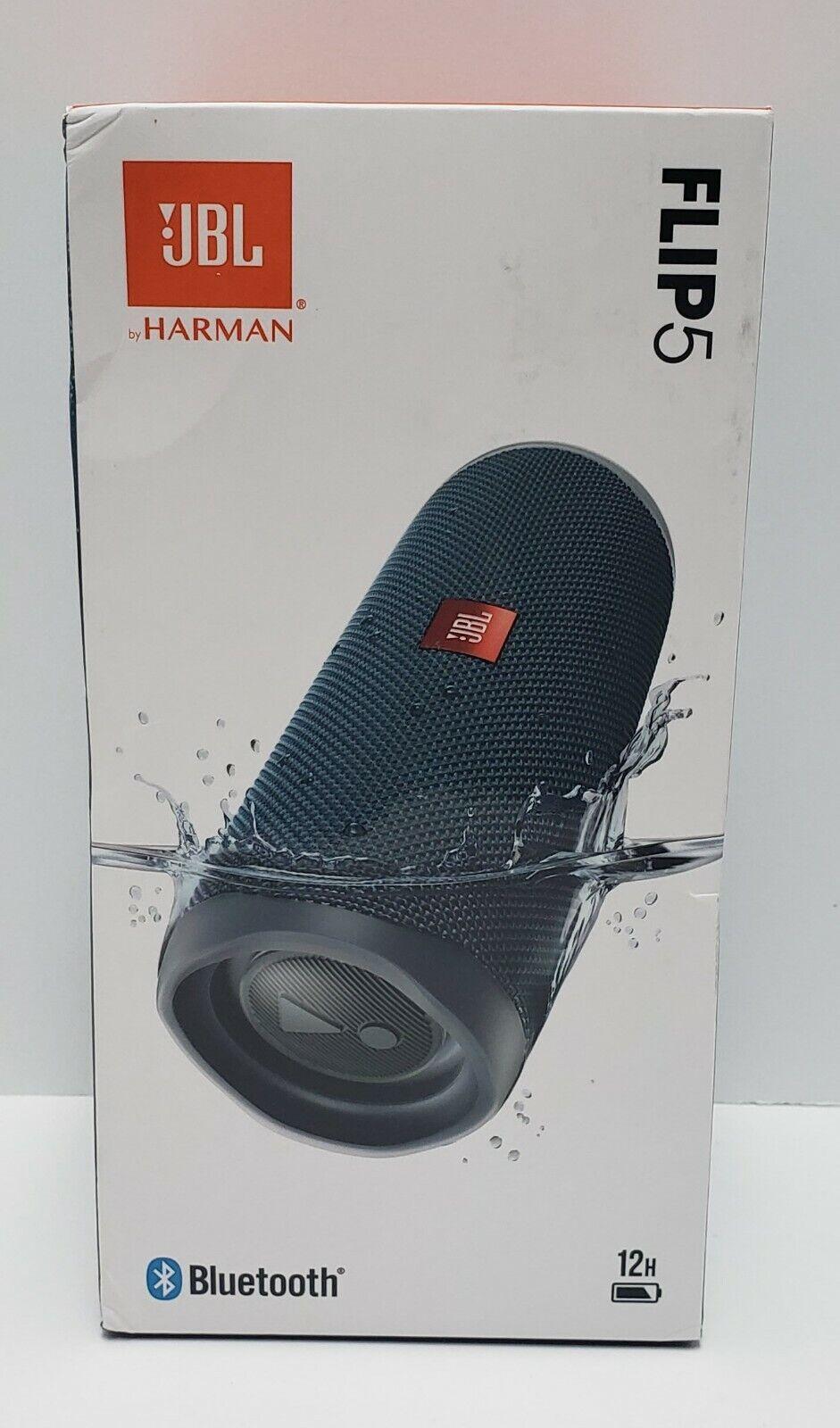 flip 5 waterproof portable rechargeable bluetooth speaker