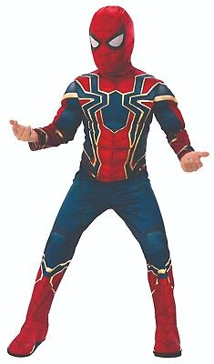 Rubies 3641057 - Iron Spider Infinity War Deluxe - Child - Avengers S,M,L  3-8 J