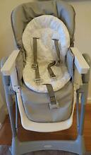 Baby High Chair Steelcraft Messina with bonus bibs Bayswater Bayswater Area Preview