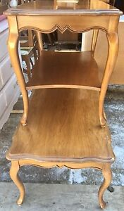 Vintage French Provincial Coffee & End Table