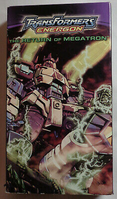 TRANSFORMERS ENERGON The Return Of Megatron VHS