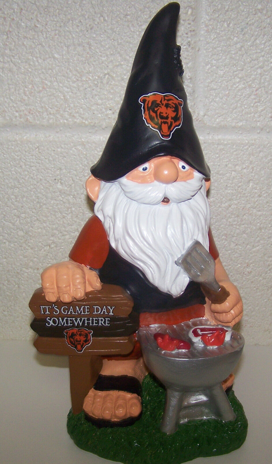 Chicago Bears Thematic NFL Team BBQ Barbeque Gnome  f272bd2d1