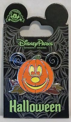 Disney Happy Halloween Trick or Treat Jack Lantern Pumpkin Mickey Pin CUTE RARE - Jack Happy Halloween