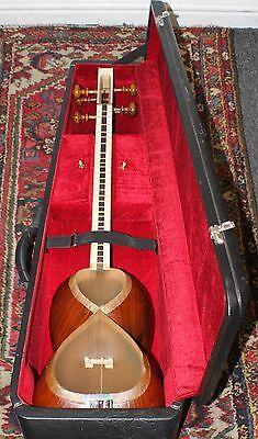 Persian Tar Instrument Handcrafted By Ostad Kewmarz Bozorgi