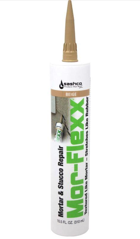 Sashco 15010 10.5oz Sashco Sealants Beige MorFlexx Mortar & Stucco Repair