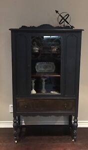 *** SOLD PPU ***Antique China Cabinet