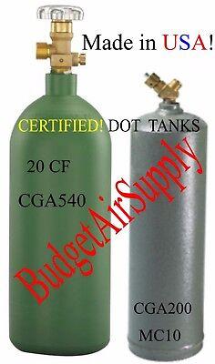 Cga54020cf Oxygen Acetylene Mc10cf Cga200 Valve Tanks Cylinders Ship Empty