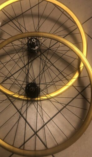 NEW Fixie or Freewheel Track Bike Wheels 700c 32 Hole Formul
