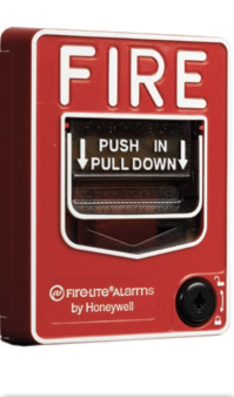 Fire-Lite BG-12 Fire Alarm DUAL ACTION Pull Station