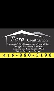 Home & Office Renovation / Remodeling / Basement Finishing