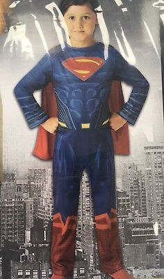 SUPERMAN Kids Fancy Dress World Book Day 7-8 - Marvel Superman Kostüm