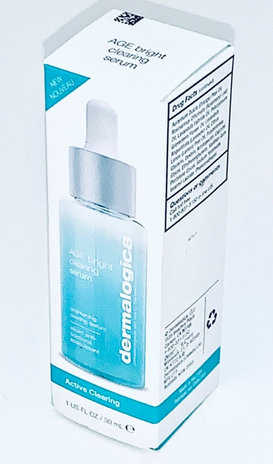 Dermalogica Age Bright Clearing Serum 1oz•SALICYLIC ACID~A
