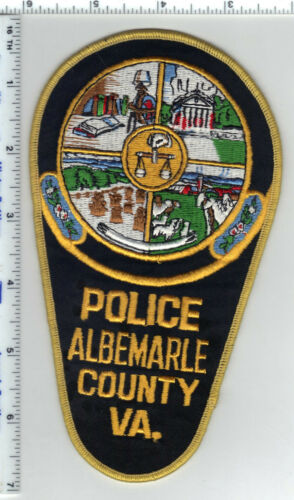 Albemarle County Police (Virginia) Shoulder Patch from 1987