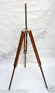 Timber tripod floor lamp stand for modern contemporary shade designer 3 leg
