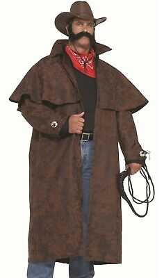 Desperado Cowboy Duster Costume Mens Big Tex Western Jacket - 3XL Plus Size XXXL - Cowboys Costume