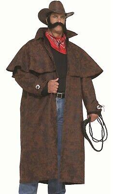 Desperado Cowboy Duster Costume Mens Big Tex Western Jacket - 3XL Plus Size - Desperado Cowboy Kostüm