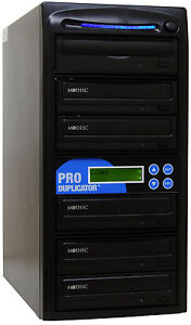 ProDuplicator-5-Burner-24X-CD-DVD-Duplicator-Disk-Copier-Copy-Duplicate-Machine