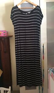 Target black stripey dress - size small Annandale Leichhardt Area Preview