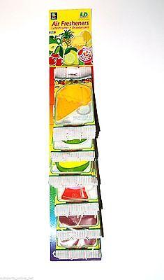 Fresh Fruit Lufterfrischer für Auto + Wohnung Vanille Autoduft Hausduft ()
