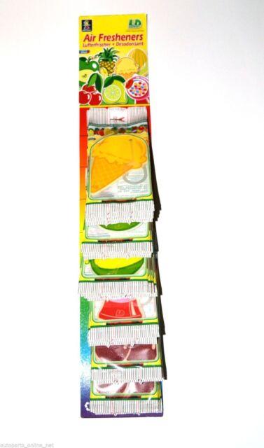 Fresh Fruit Lufterfrischer für Auto + Wohnung Vanille Autoduft Hausduft