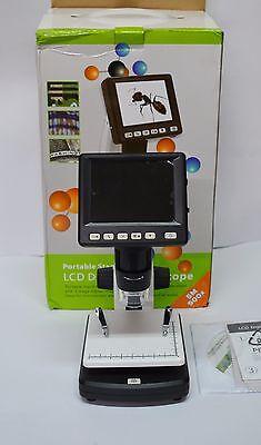 Digital Microscope 5mp Hd Usbav Tv Camera Video Recorder 3.5 Lcd Screen 500x