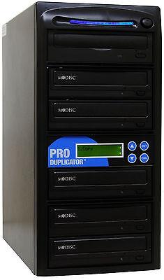 Produplicator 5 Target M-disc Support 24x Cd Dvd Duplicat...