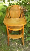 Antique Austrian Bentwood High Chair Mount Eliza Mornington Peninsula Preview