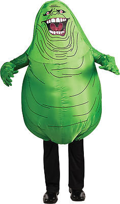 Ghostbusters Inflatable Slimer Adult Mens Costume Slimer Movie Scary Theme Party