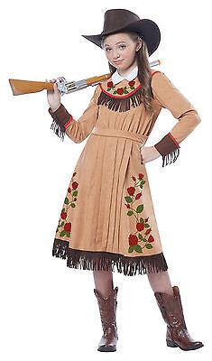 Western Cowgirl Annie Oakley Pioneer Child Costume (Annie Oakley Dress)