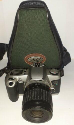 "CANON EOS 500n + canon zoom lens EF 35-80mm 1:4-5,6 ""testé"""