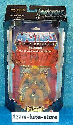 Masters of the Universe Motu Commemorative He Man / Mattel neu + ovp moc