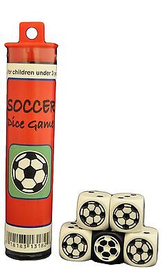 Soccer Dice Game