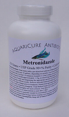 250 Grams Pure Metronidazole Aquarium Fish Ich Infection   Parasite Medicine