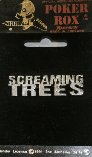 Poker Rox Screaming Trees Logo Pin Clasp RARE!!  PC243
