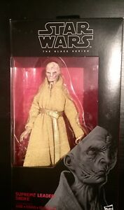 "Star Wars Black Series 6"" Snoke Figure"