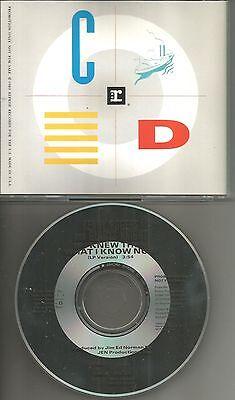 Kenny Rogers   Gladys Knight If I Knew What  Promo Radio Dj Cd Single I Now 1989