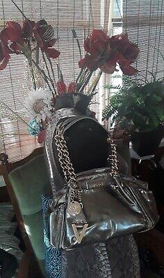 Versace Medusa Runway Embellished Chain Shoulder Satchel Handbag bag