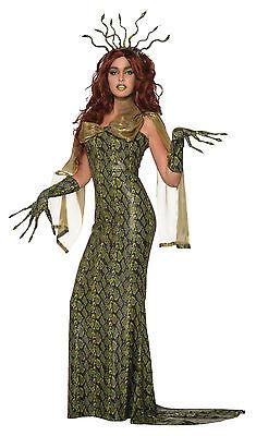Deluxe Medusa Halloween Fancy Dress Outfit Costume Size 10-14 - Medusa Halloween Costume Deluxe