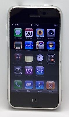 Apple iPhone 1st Generation 2G   A1203   8GB   Black   GSM   LCD Lines